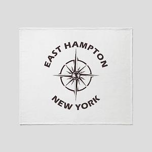 New York - East Hampton Throw Blanket