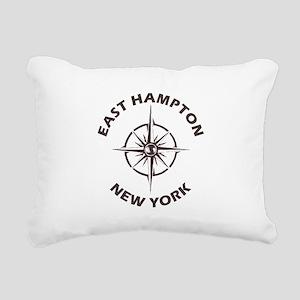 New York - East Hampton Rectangular Canvas Pillow