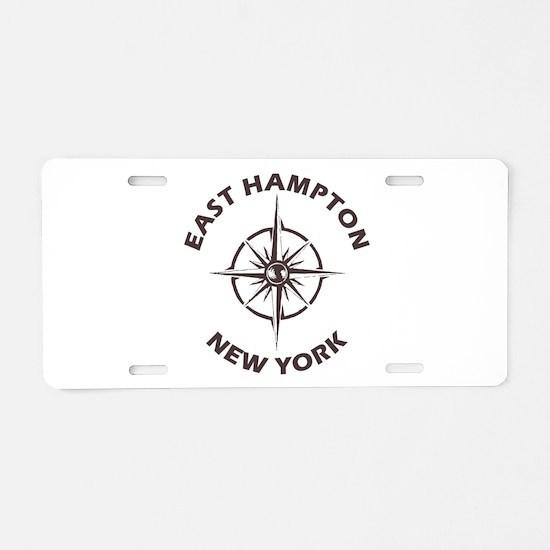 New York - East Hampton Aluminum License Plate