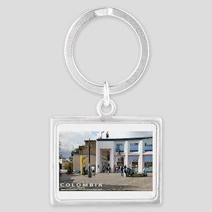Plaza de Quevedo Landscape Keychain