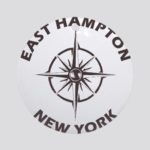 New York - East Hampton Round Ornament