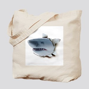 Shark Burster Tote Bag