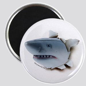 "Shark Burster 2.25"" Magnet (10 pack)"