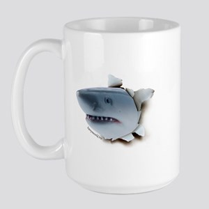 Shark Burster Large Mug