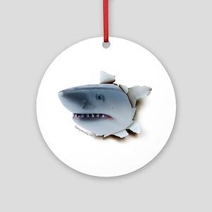 Shark Burster Ornament (Round)