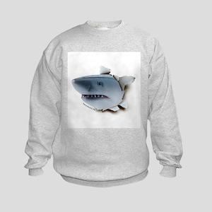 Shark Burster Kids Sweatshirt