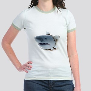Shark Burster Jr. Ringer T-Shirt