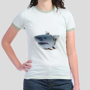 Shark Burster Jr. Ringer T-Shirt