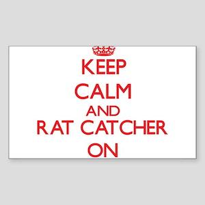 Keep Calm and Rat Catcher ON Sticker