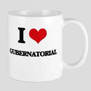 I Love Gubernatorial Mugs