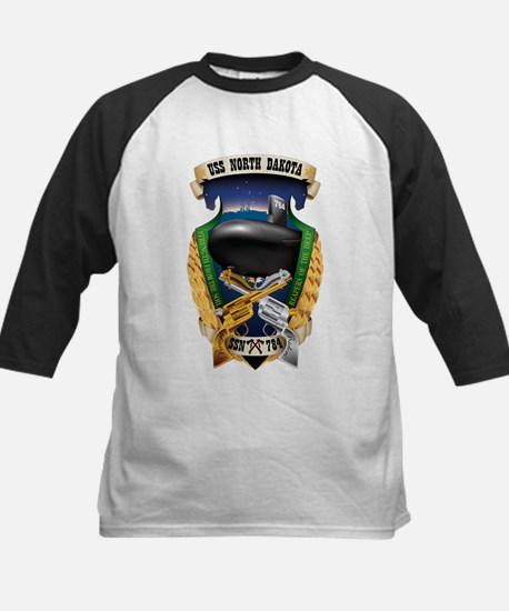 USS North Dakota SSN-784 Baseball Jersey