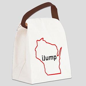iJump Canvas Lunch Bag