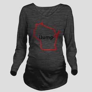 iJump Long Sleeve Maternity T-Shirt