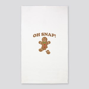Oh, SNAP! Gingerbread Man Area Rug