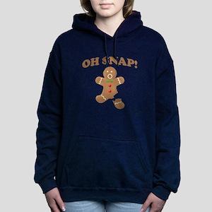 Oh, SNAP! Gingerbread Man Women's Hooded Sweatshir