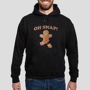 Oh, SNAP! Gingerbread Man Hoodie