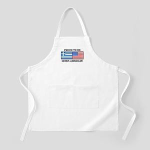 Greek American BBQ Apron