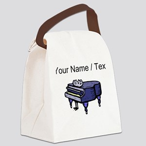 Custom Piano Canvas Lunch Bag