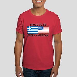 Greek American Dark T-Shirt