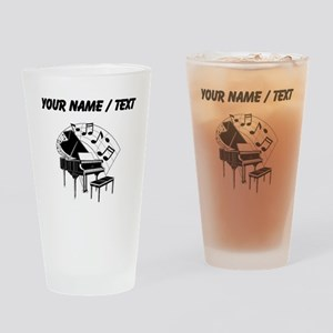 Custom Piano Drinking Glass