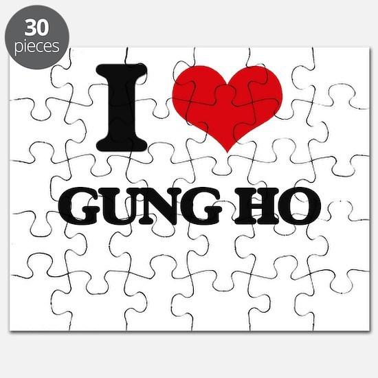 I Love Gung Ho Puzzle