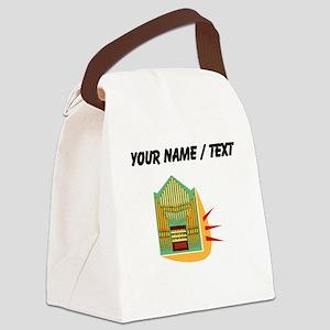 Custom Pipe Organ Canvas Lunch Bag