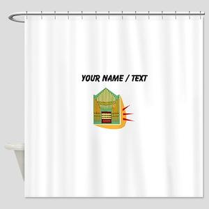 Custom Pipe Organ Shower Curtain