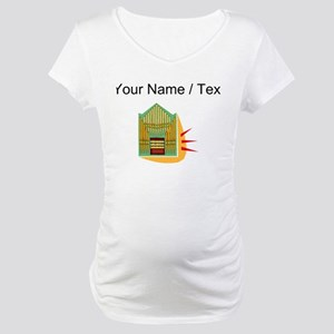 Custom Pipe Organ Maternity T-Shirt