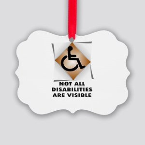 DISABILITY NOT Ornament