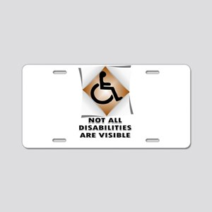 DISABILITY NOT Aluminum License Plate