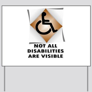 DISABILITY NOT Yard Sign