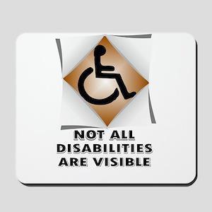DISABILITY NOT Mousepad