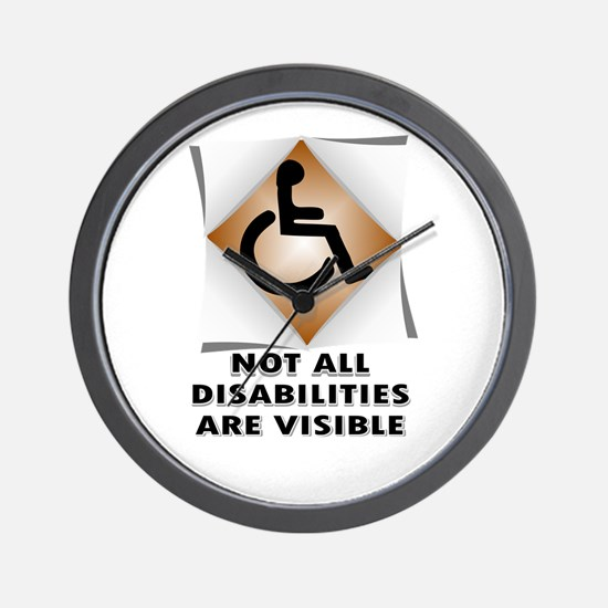 DISABILITY NOT Wall Clock
