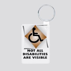 DISABILITY NOT Keychains