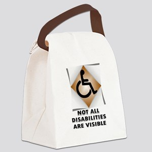 DISABILITY NOT Canvas Lunch Bag