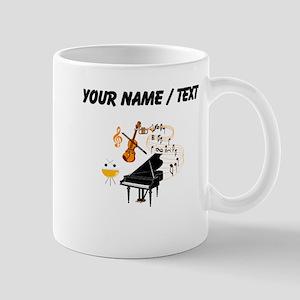 Custom Musical Instruments Mugs