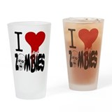 Zombie Drinking Glass
