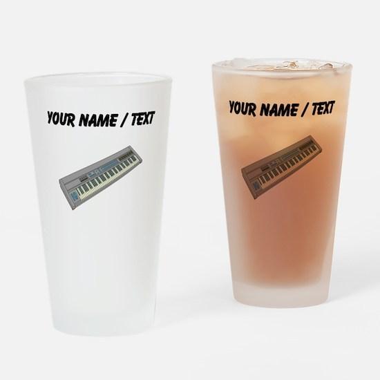 Custom Keyboard Drinking Glass