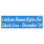 Human Rights Day Bumper Sticker