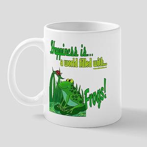 Happiness is a Frog Mug