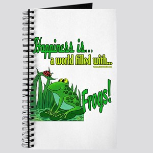 Happiness is a Frog Journal