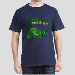 Happiness is a Frog Dark T-Shirt