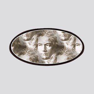 Beethoven Portrait Pattern Patches