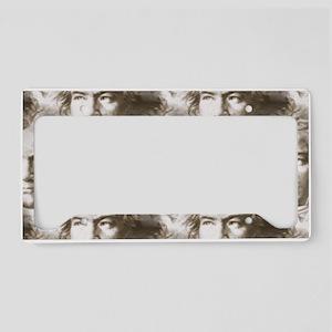 Beethoven Portrait Pattern License Plate Holder
