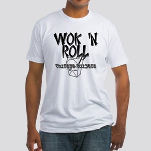 Wok 'N Roll Fitted T-Shirt