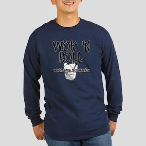 Wok 'N Roll Long Sleeve Dark T-Shirt