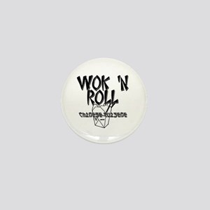 Wok 'N Roll Mini Button