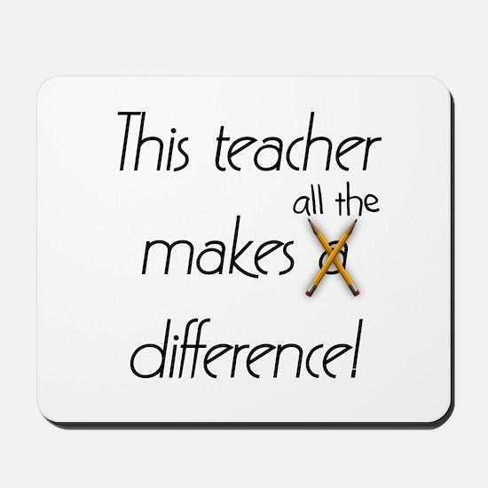 This Teacher Mousepad