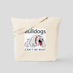 Bulldogs can't be beat Tote Bag