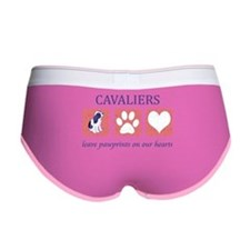 FIN-ckcs-pawprints.png Women's Boy Brief